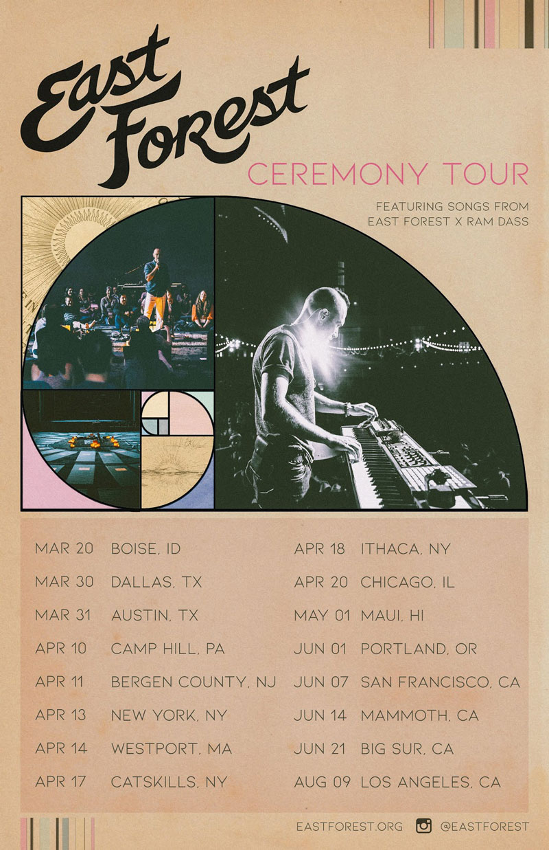 east-forest-ceremony-tour-poster
